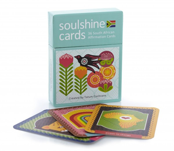 Soulshine Cards – 36 South African Affirmation Cards