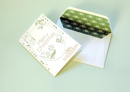 Pam Golding Christmas Card