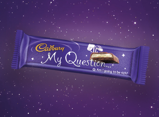 My Question Cadbury Bar