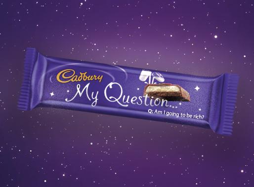 My Question Cadbury Bar