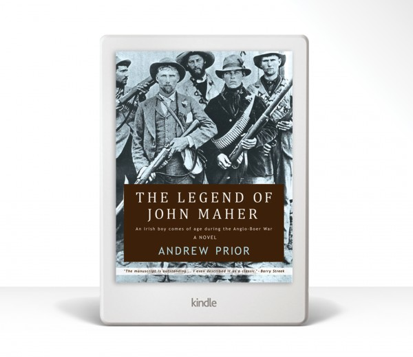 The Legend of John Maher Kindle Cover