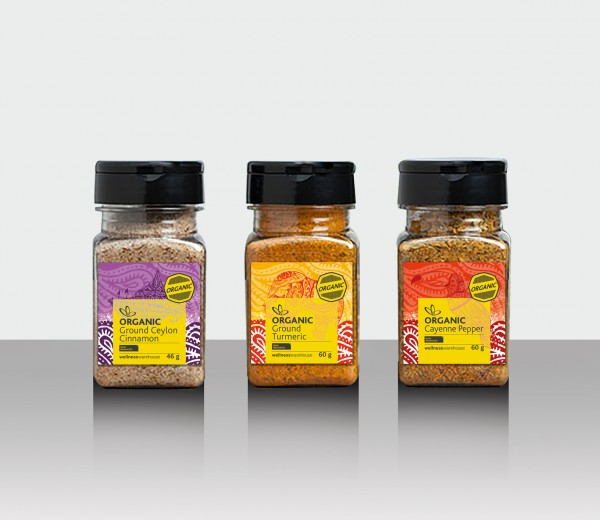 Wellness Warehouse Spice Range