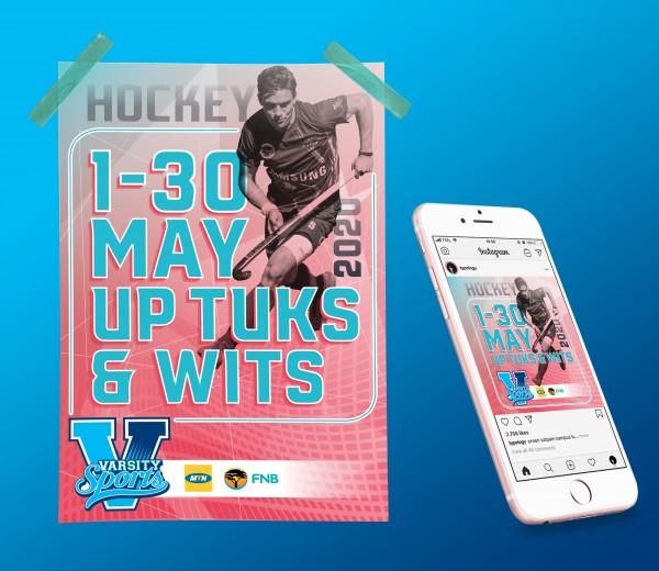 Varsity Sports Poster and Social Media Post